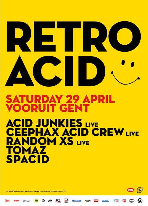 Retro Acid - Sat 29-04-06, Kunstencentrum Vooruit