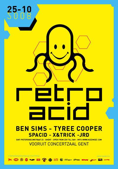 Retro Acid - Sat 25-10-08, Kunstencentrum Vooruit