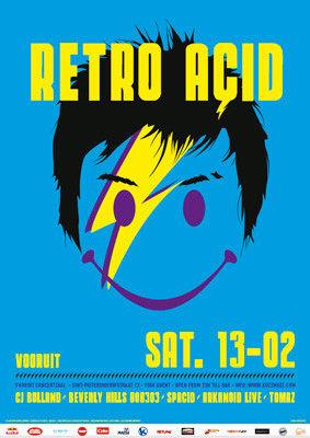 Retro Acid - Sat 13-02-10, Kunstencentrum Vooruit