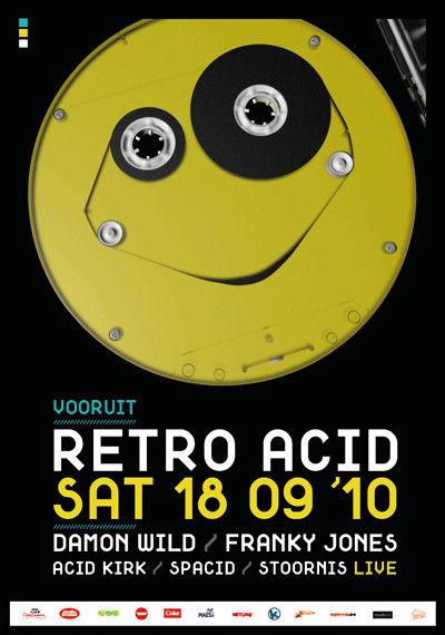 Retro Acid - Sat 18-09-10, Kunstencentrum Vooruit