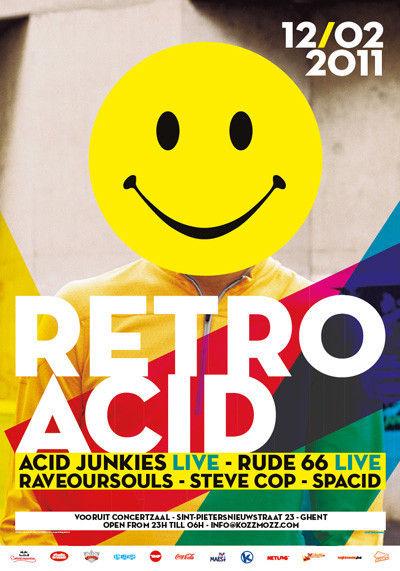 Retro Acid - Sat 12-02-11, Kunstencentrum Vooruit