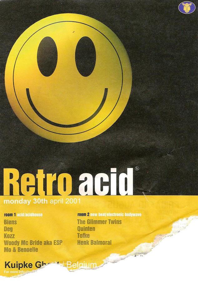 Retro Acid - Mon 30-04-01, Kuipke Ghent