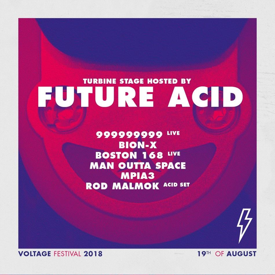 Future Acid @ Voltage Festival 2018 - Sun 19-08-18, Transfo Zwevegem